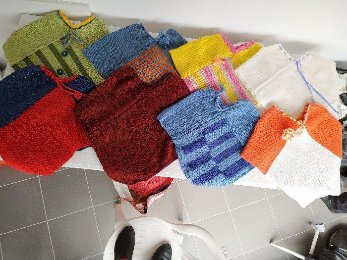 Atelier tricot et réalisation d'objets