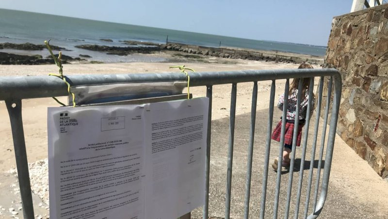 Loire-Atlantique. La préfecture autorise l'accès à presque toutes plages