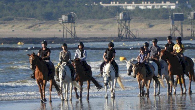 La Plaine-sur-Mer. Joalland équitation se met à l'heure d'été