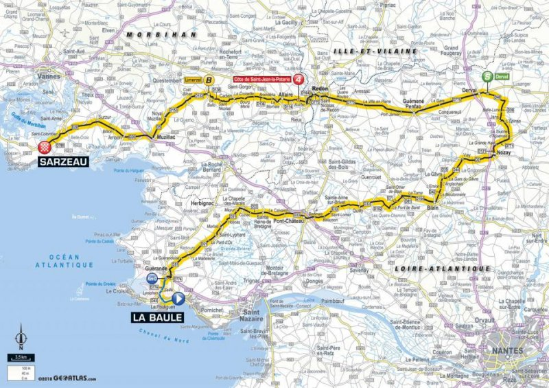 Passage du tour de France