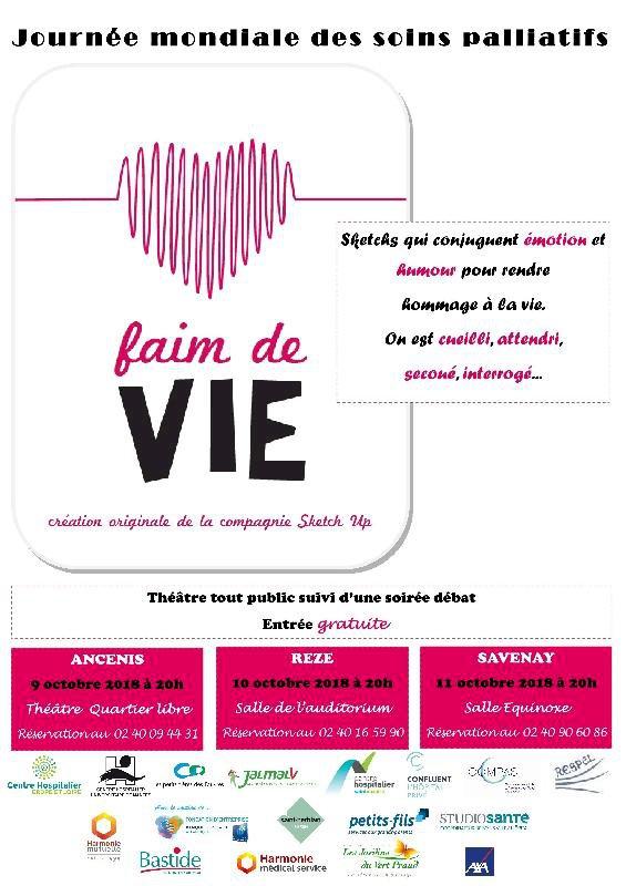 Théâtre : Faim de vie !
