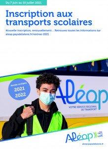 Ouverture des inscriptions aux transports scolaires pour la rentrée 2021-2022