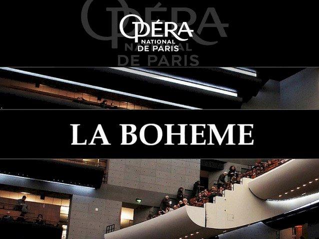 Opéra « La Bohème »