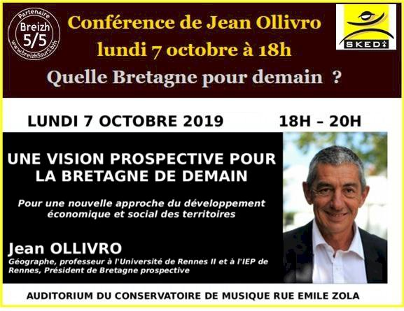 Conférence : Quelle Bretagne pour demain ?, Jean Ollivro