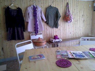 Café tricot Les tisseuses de lien