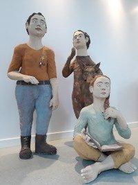 Exposition de Pablo Castillo, céramiste