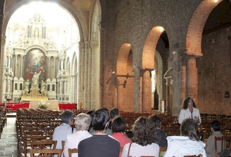 Saint-Sauveur, une abbaye en cœur de ville