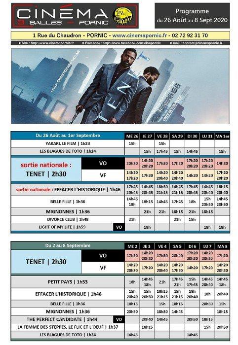 Programme du Cinéma Saint Gilles 3 salles