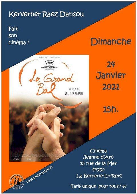 ANNULE //////La Bernerie-en-Retz. En janvier, Kerverner Raez Dansou fait son cinéma