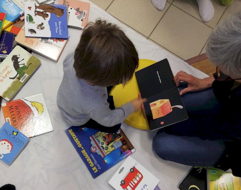 Lectures aux bébés de La Madeleine-de-Guérande