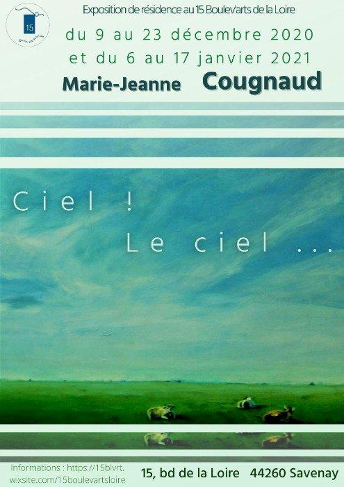 """Atelier """"Visite sensible"""" - Marie-Jeanne Cougnaud """"Ciel ! Le ciel..."""""""
