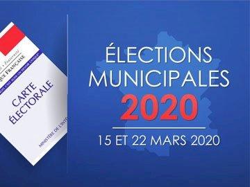 Élections municipales, 1er tour