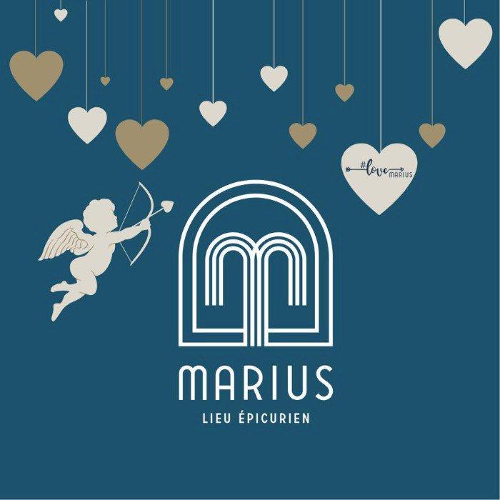 Les menus de Saint Valentin de Marius et mille autres petites attentions