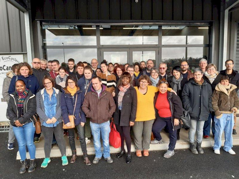 Réouverture de la recyclerie de Nort-sur-Erdre