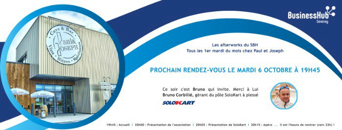 L'afterwork du Savenay Business Hub pour les entrepreneurs (Estuaire et Sillon)