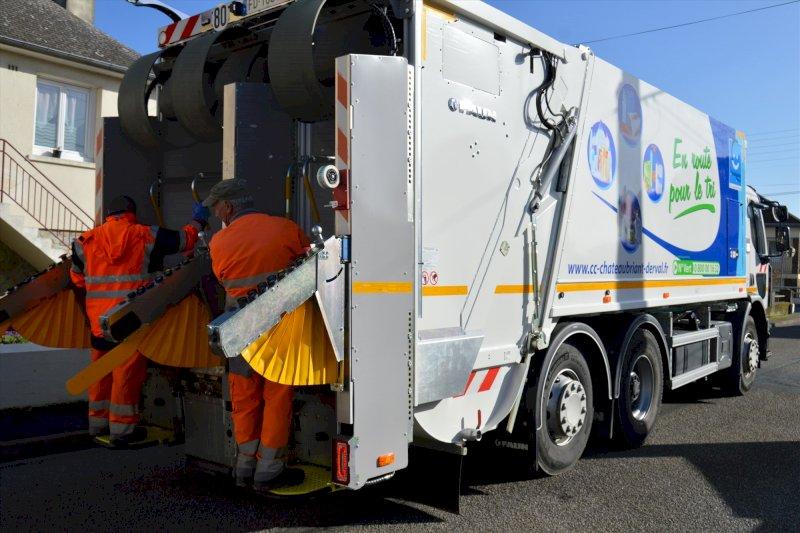 Collectes des ordures ménagères modifiées en raison du lundi 5 avril férié