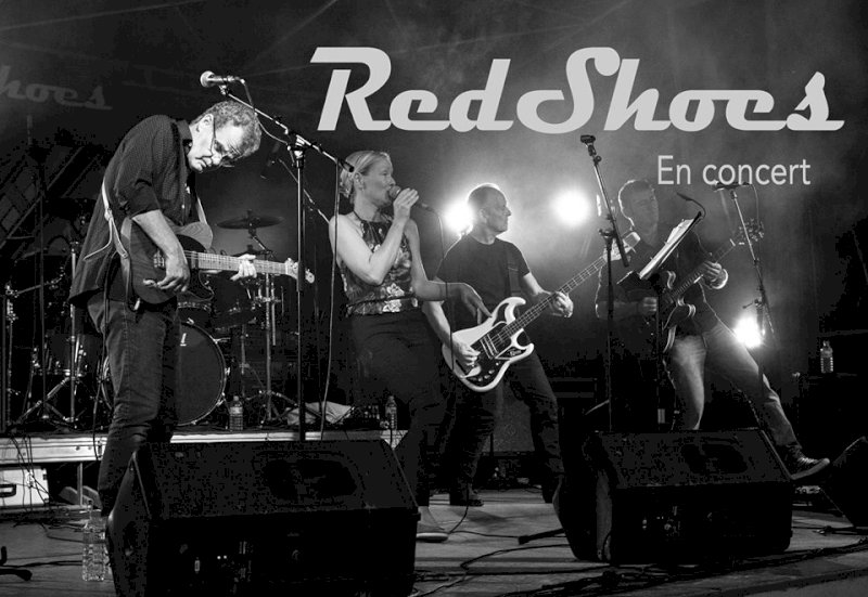 RedShoes en live pop rock