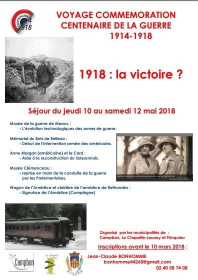 Inscription au séjour mémoire 2018