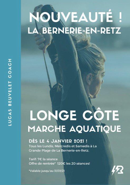 Longe-côte la Bernerie-en-Retz, une première session sous l'impulsion de Lucas Beuvelet