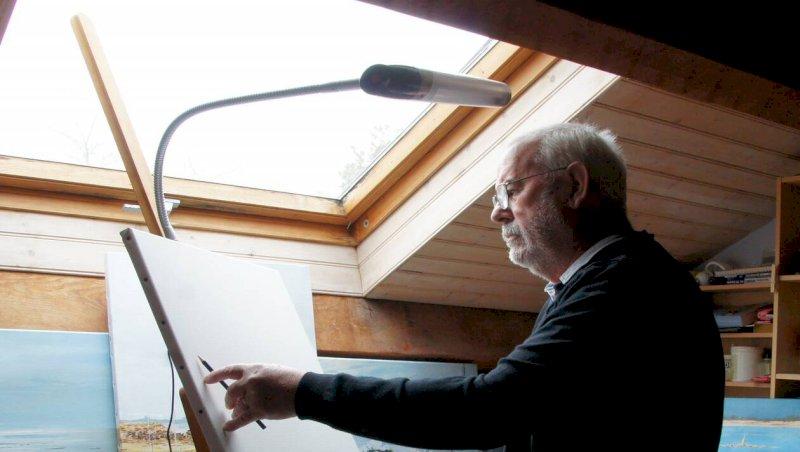Les Moutiers-en-Retz. Lundi22, le peintre Édouard Gautreau donne le top départ des expositions | Presse Océan