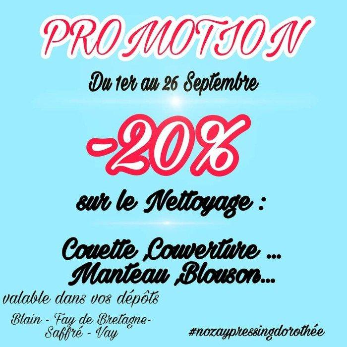 Promotion pour l'hiver ❄️ chez Nozay Pressing