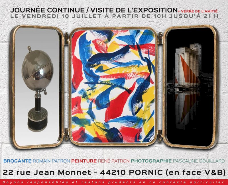 Art contemporain et brocante