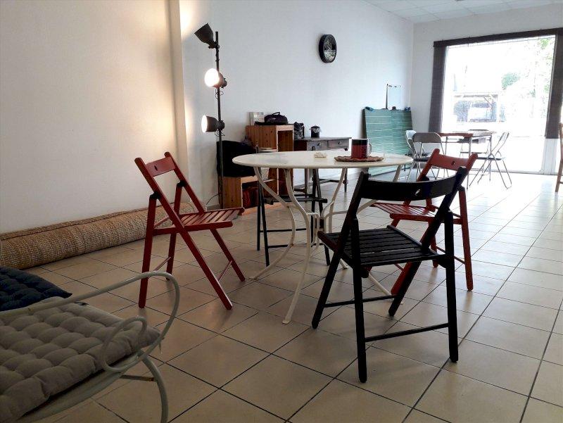 Inauguration du Coop'arts café associatif