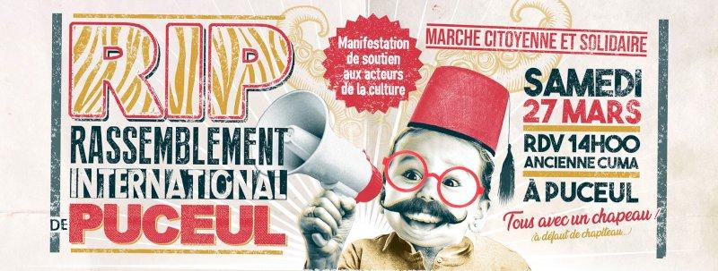 Rassemblement International de Puceul (marche de soutien à la culture)