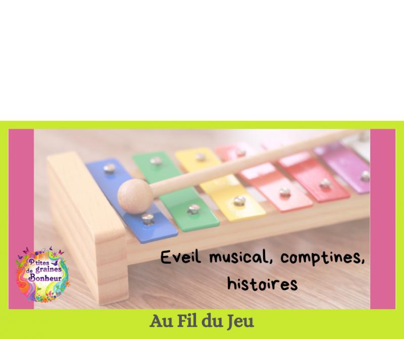 Atelier adulte-enfant « éveil musical »