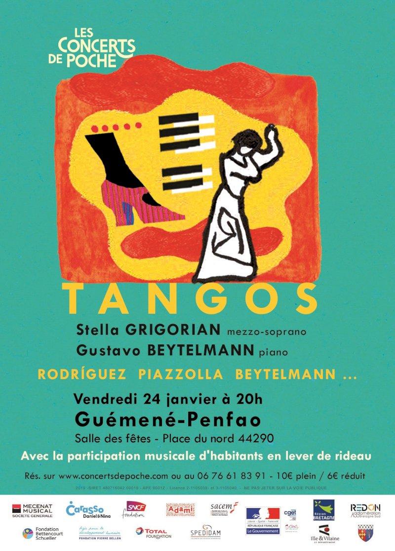 Concert de Poche : Stella Grigorian, Gustavo Beytelmann