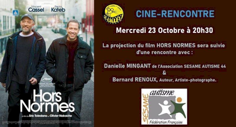 Ciné-Rencontre sur le film HORS NORMES en présence de l'association SESAME AUTISME 44