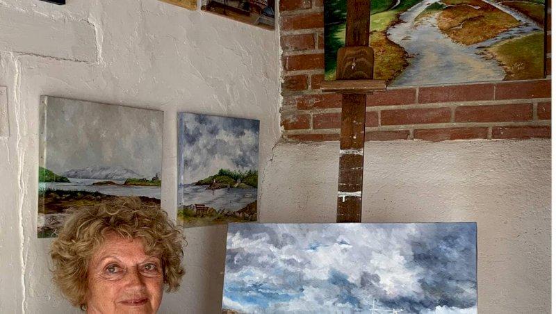 La Bernerie-en-Retz. Jacqueline Leblanc expose ses rivages d'ici et d'ailleurs | Presse Océan