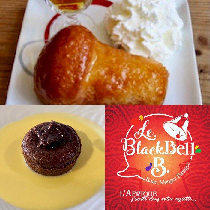 Desserts du jour du Black Bell B... du 11 au 13/12
