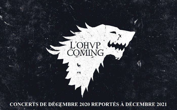 L'OHVP is coming soon !