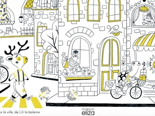 Rencontre avec l'illustratrice Lili la baleine et les éditions Maison Eliza