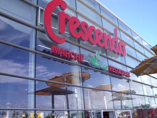 CRESCENDO, le restaurant-cafétéria adossé au Centre commercial Leclerc rouvre complètement ce jour !