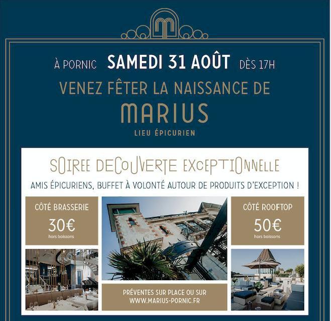 Venez fêter la naissance de Marius le samedi 31 aout à partir de 17h