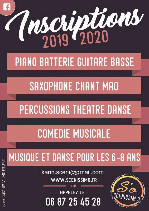 Musique, chant, MAO, clown (art-thérapie), danse et théâtre