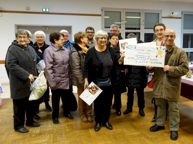 Assemblée générale de l'association EVP pour l'organisation du téléthon à Prinquiau