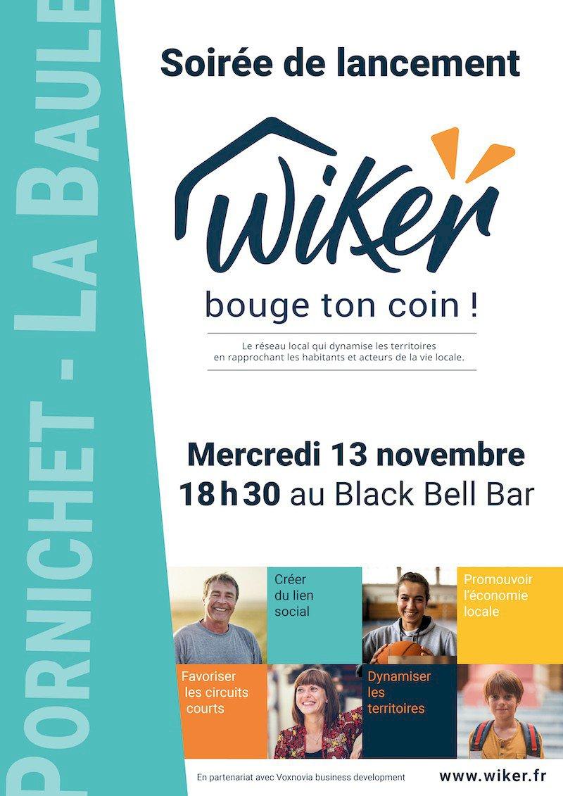Soirée de lancement officiel de WiKer à Pornichet et La Baule