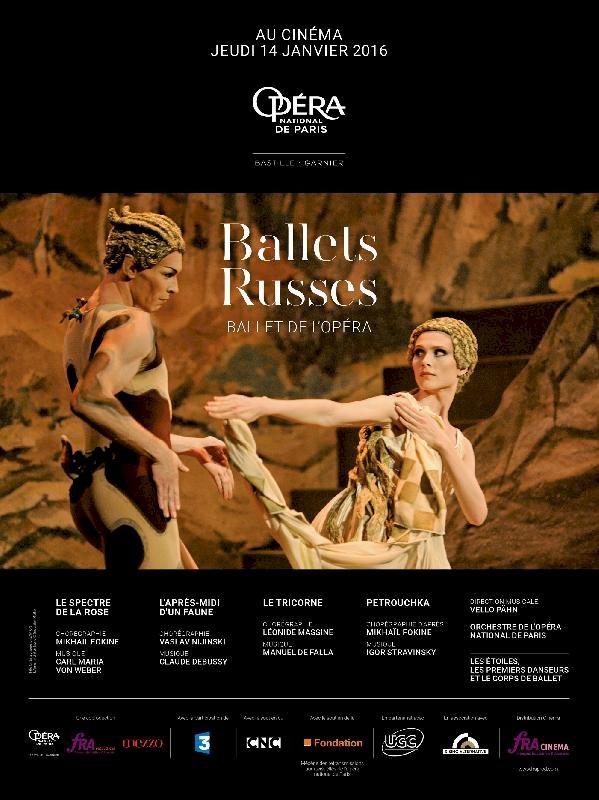 Les Ballets russes, opéra