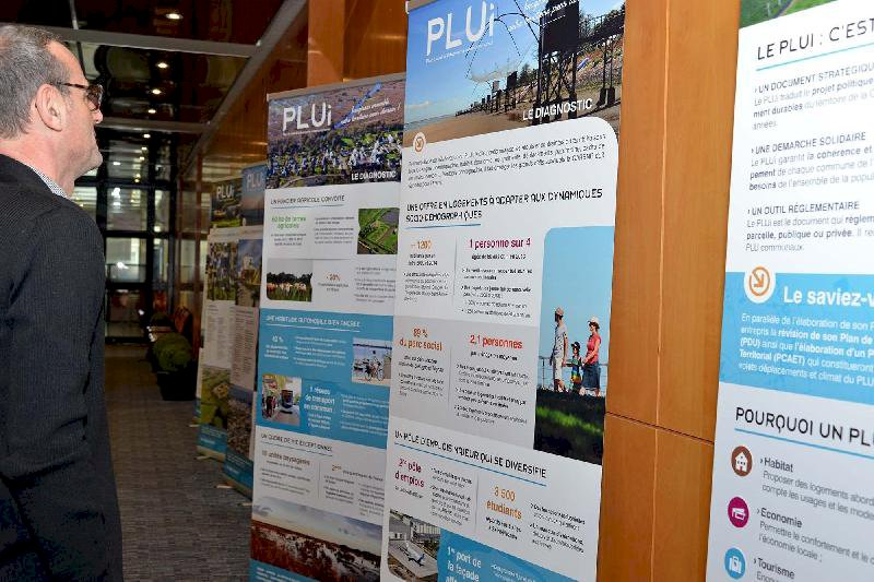 PLUi, une expo dans les communes de la Carene