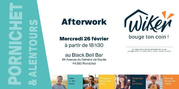 Afterwork WiKer 26/02/20 au Black Bell Bar à Pornichet