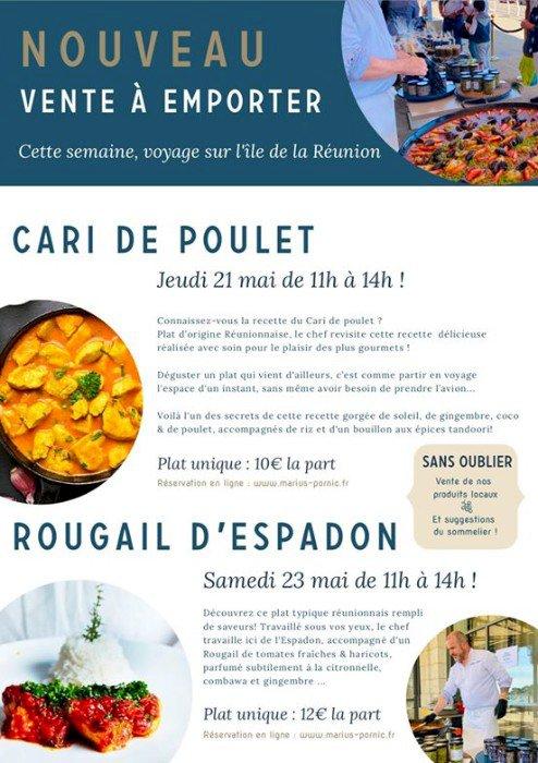 Marius vous propose un voyage gastronomique à la Réunion