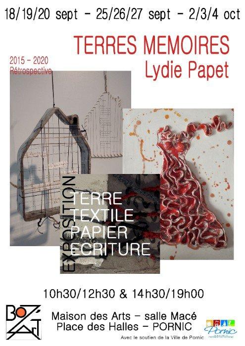 """Exposition artistique""""TERRES MÉMOIRES"""""""