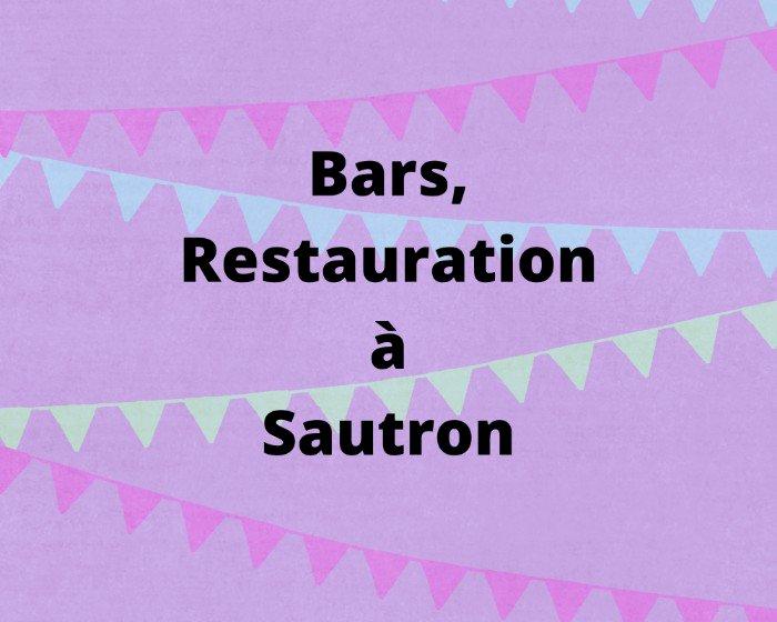 Pour se restaurer et boire un verre à Sautron!!