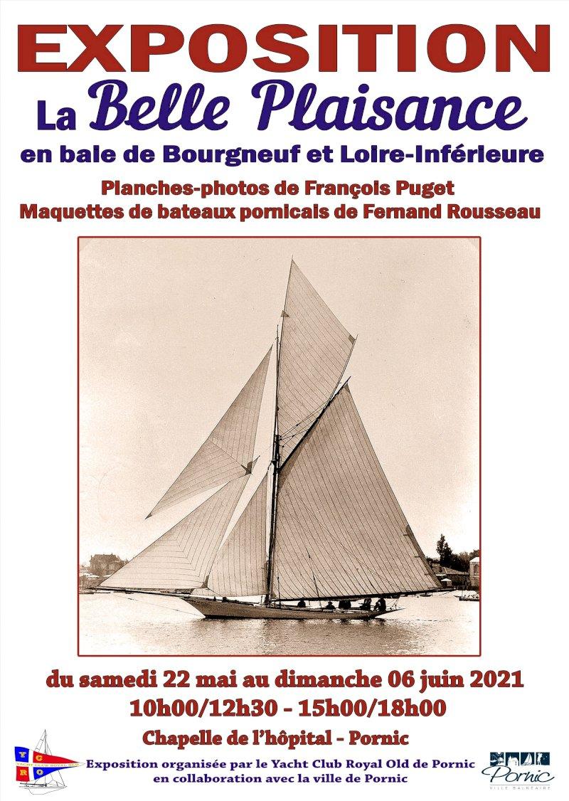 La Belle Plaisance en baie de Bourgneuf et Loire Inférieure