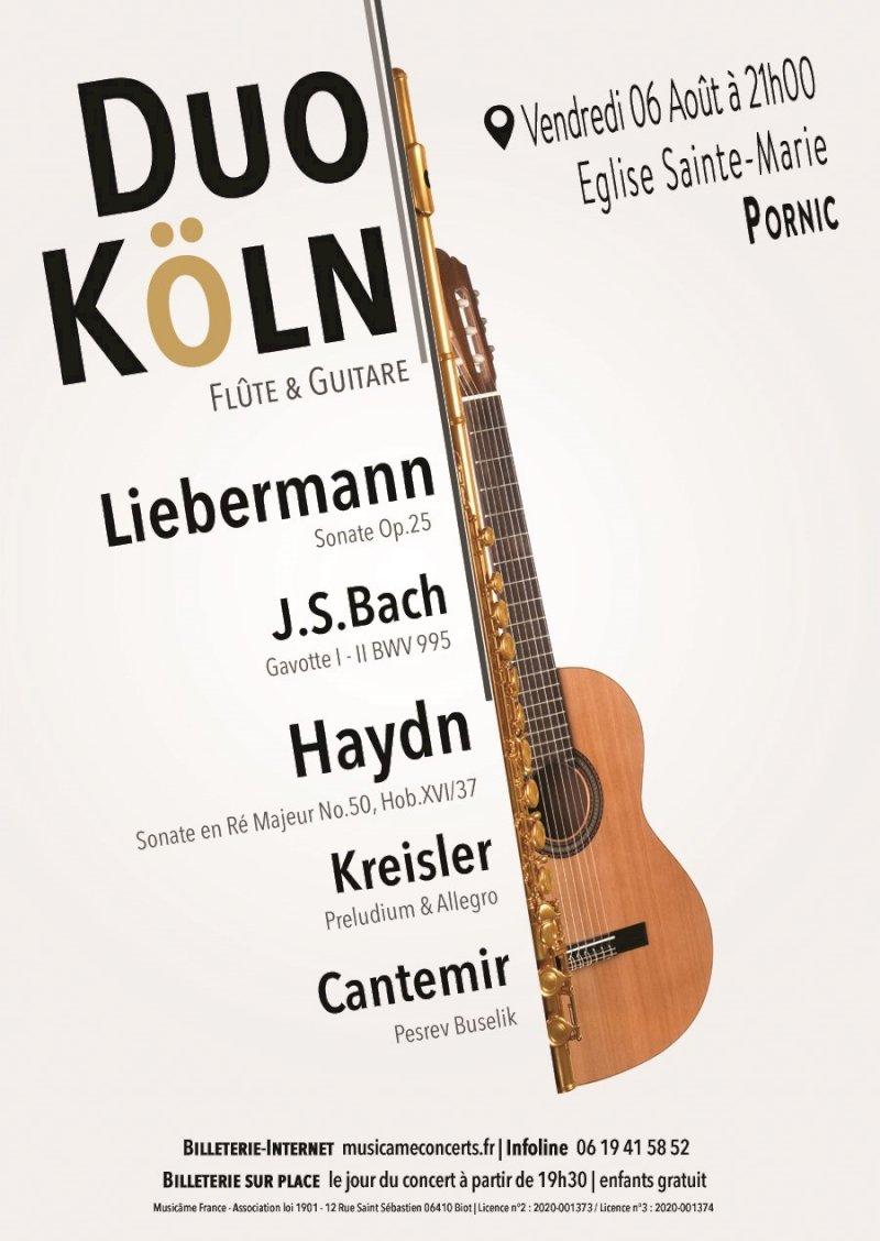 Duo Köln : les solistes du Kammerensemble Cologne : concert de flûte & guitare