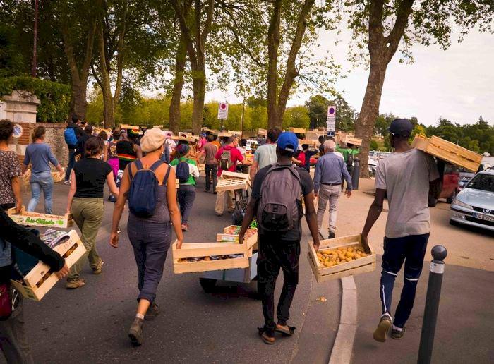 Le grand voyage des légumes solidaires Parcelle La Perruche