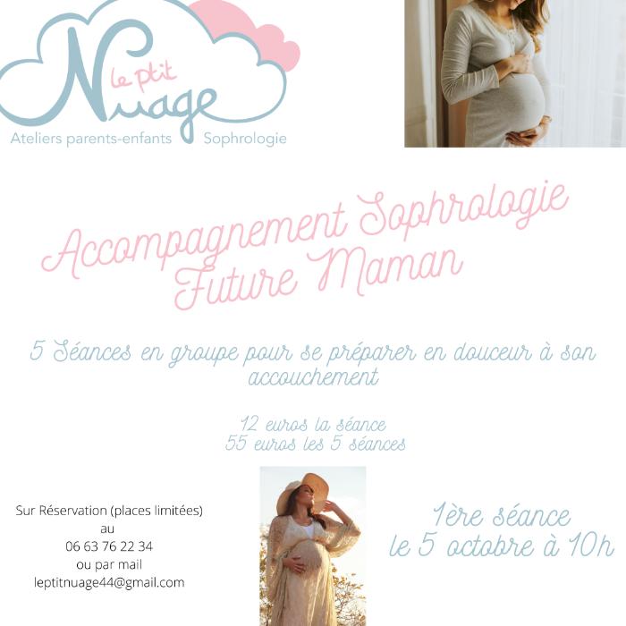 Le P'tit Nuage organise : Séances Sophrologie Femmes Enceintes